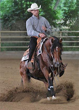 GFH Sonar Seganges gewann die Reining im letzten Jahr. Foto: Christian Keller / ck24.at