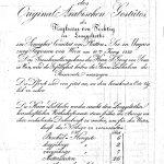 Über 50 Pferde aus dem Gestüt des Baron von Fechtig standen 1833 zum Verkauf.