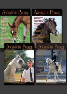 Gesamtjahrgang 2015  Arabische Pferde IN THE FOCUS