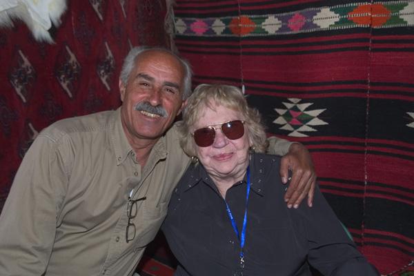 Hansi und Ahmed Haj Wais an der WAHO-Tagung 2007 in Syrien.