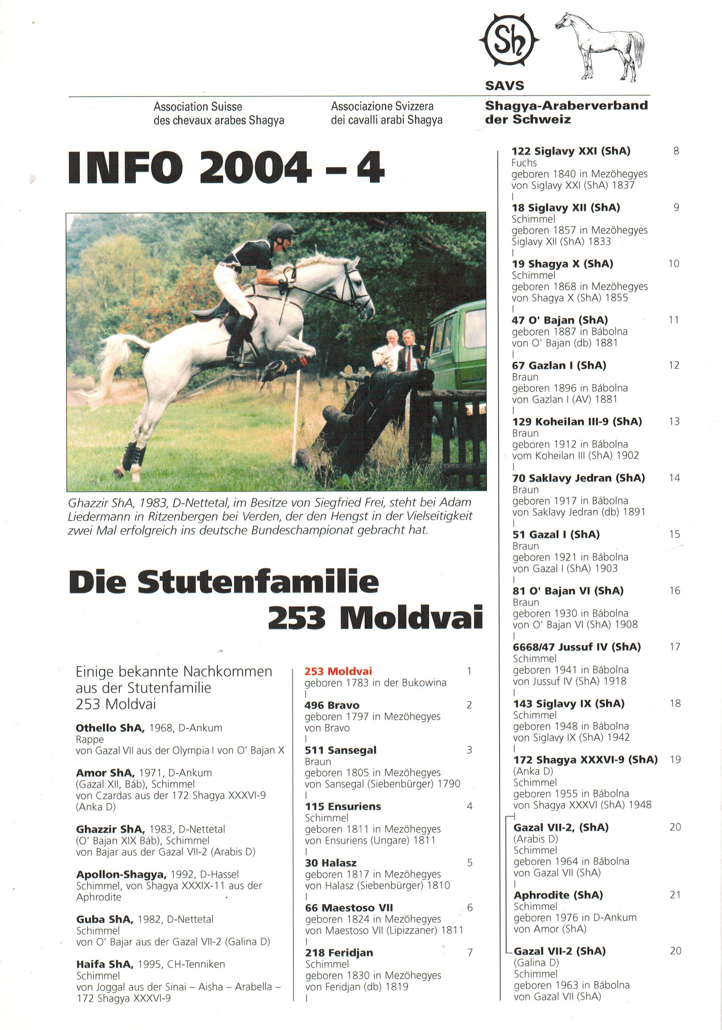 SAVS Info 2004-4