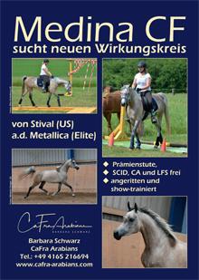Cafra-Arabians, Barbara Schwarz