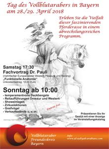 Vollblutaraber in Bayern
