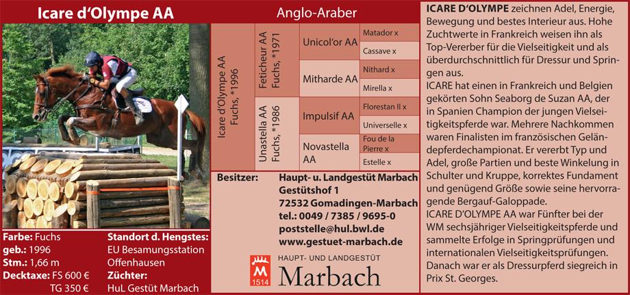 Gestüt Marbach - Icare d