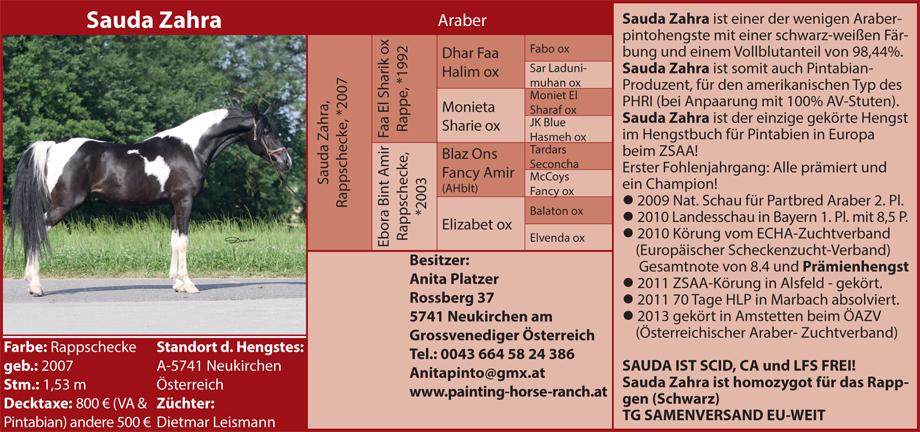 Anita Platzer - Sauda Zahra
